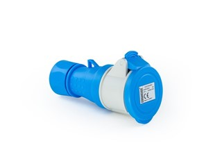 Plastic2+Neutral Extension Type Socket 16A CEE Norm