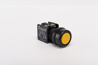 KB Series Plastic 1NC Spring Flush Yellow 22 mm Control Unit