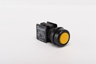 KB Series Plastic 1NO Spring Etange Yellow 22 mm Control Unit