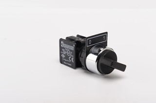 KB Series Plastic 1NO (0-I) 60° Selector Stay Put 22 mm Control Unit
