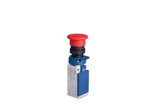 L5 Plastic Body 40 mm Plastic Emergency Stop Safety Switch Slow Action 1NO+1NC Limit Switch
