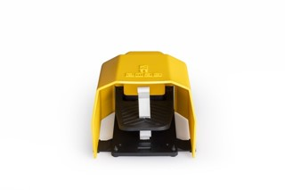PPK Series Plastic Protection 1NO+1NC Single Yellow Plastic Foot Switch