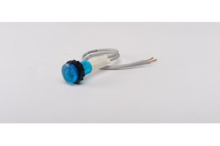 S Series Plastic 230V AC Blue 10 mm Pilot