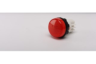 S Series Plastic 230V AC Red 22 mm Pilot