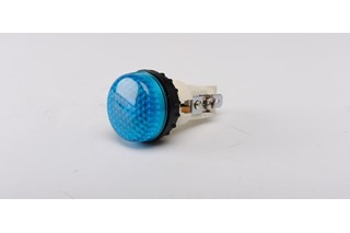 S Series Plastic 230V AC Blue 22 mm Pilot